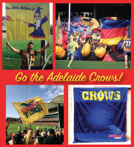 Crows flags